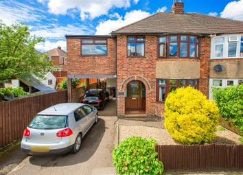 Thumbnail 5 bedroom semi-detached house for sale in Linden Avenue, Kettering