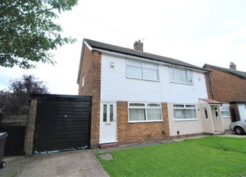 Thumbnail 2 bed semi-detached house for sale in Stonecroft Road, Leyland