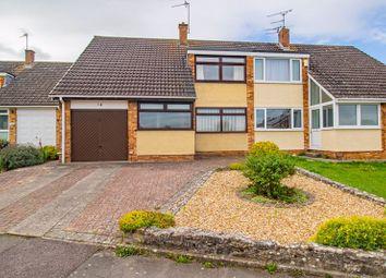 Thumbnail 3 bed semi-detached house for sale in Walden Road, Keynsham, Bristol