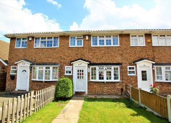 Thumbnail 3 bed terraced house to rent in Lodge Lane, Collier Row, Romford