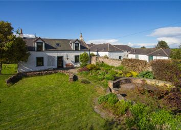 Thumbnail 4 bed detached house for sale in Tobees Farmhouse, Oathlaw, By Forfar, Angus