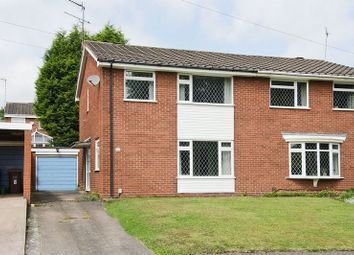 Thumbnail 3 bed semi-detached house for sale in Arden Close, Rugeley