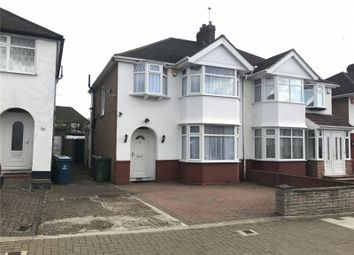 Thumbnail 3 bed semi-detached house to rent in Portland Crescent, Stanmore