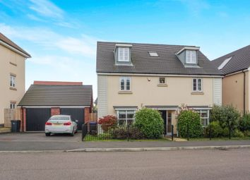 Thumbnail 5 bed detached house for sale in Lockgate Road, Hunsbury Meadows, Northampton