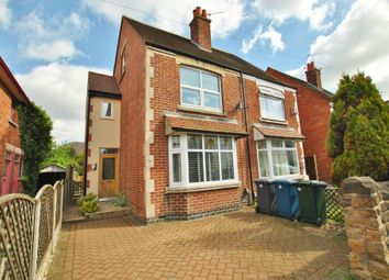Thumbnail 3 bed semi-detached house for sale in Abingdon Road, West Bridgford, Nottingham, Nottinghamshire