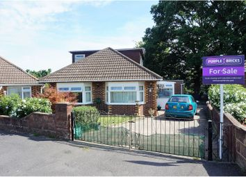 Thumbnail 4 bedroom detached bungalow for sale in Exeter Road, Southampton