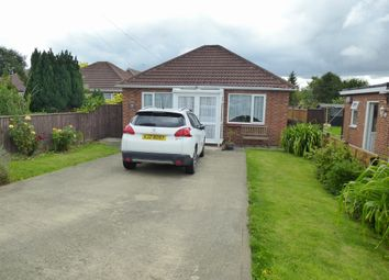 Thumbnail 2 bed detached bungalow for sale in Money Bank, Wisbech