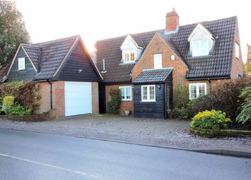 Thumbnail 4 bed cottage to rent in Station Road, Felsted
