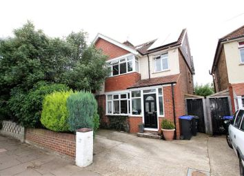 Thumbnail 4 bedroom end terrace house for sale in Reigate Road, West Worthing, West Sussex