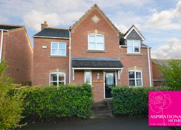 Thumbnail 4 bed detached house for sale in School Lane, Raunds
