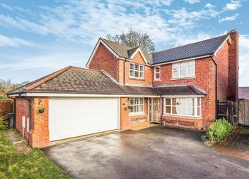 Thumbnail 4 bed detached house for sale in St. Annes Drive, Morda, Oswestry, Shropshire