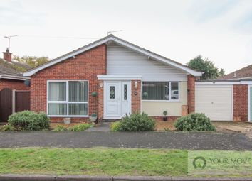 Thumbnail 3 bed bungalow for sale in Lockhart Road, Ellingham, Bungay