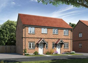 "Thumbnail 2 bedroom semi-detached house for sale in ""The Dinfield"" at Brunswick Road, Deepcut, Camberley"