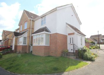 Thumbnail 2 bedroom end terrace house for sale in Horsham Close, Haverhill