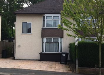 Thumbnail 5 bed semi-detached house to rent in The Avenue, Newcastle Under Lyme, Staffordshire