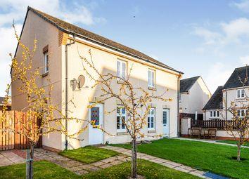 Thumbnail 3 bed semi-detached house for sale in South Quarry Drive, Gorebridge, Midlothian