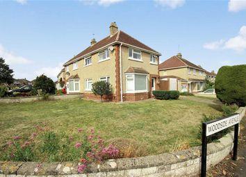 Thumbnail 3 bed semi-detached house for sale in Woodside Avenue, Old Walcot, Swindon