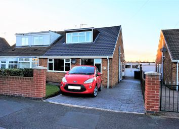 Thumbnail 2 bed semi-detached bungalow for sale in Budby Avenue, Mansfield