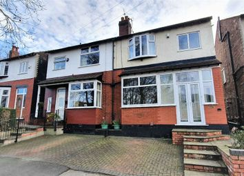 3 bed semi-detached house for sale in Avondale Road, Stockport, Cheshire SK3