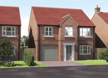 Thumbnail 4 bed detached house for sale in The Oak Manor Court, York Road, Barlby, Selby