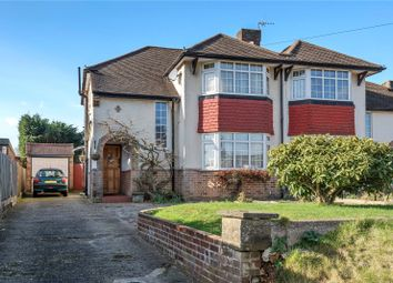 Thumbnail 3 bed semi-detached house for sale in Limpsfield Road, Warlingham, Surrey