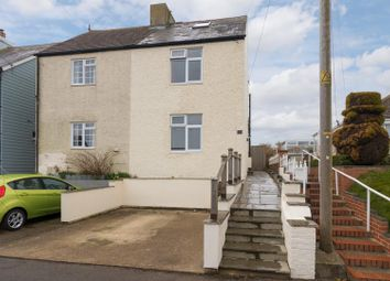 Capel Street, Capel-Le-Ferne, Folkestone CT18. 3 bed semi-detached house for sale