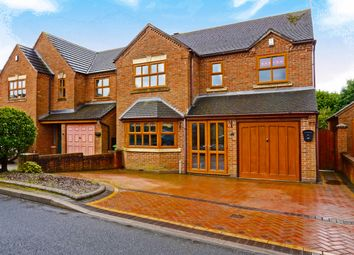 Thumbnail 4 bed detached house for sale in Mere Croft, Norton Canes, Cannock
