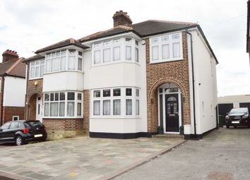 Thumbnail 3 bed semi-detached house for sale in Squirrels Heath Road, Harold Wood, Romford