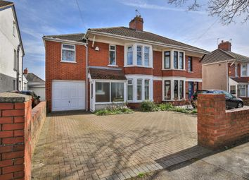 Thumbnail 5 bed semi-detached house for sale in Pantbach Road, Rhiwbina, Cardiff