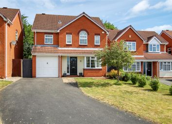 Thumbnail 4 bed detached house for sale in Poplar Drive, Measham, Swadlincote