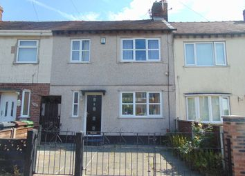 Thumbnail 3 bed terraced house to rent in Monfa Road, Bootle