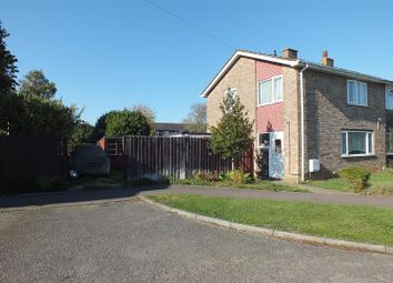Thumbnail 3 bed semi-detached house for sale in Kings Road, Eaton Socon, St. Neots