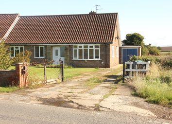 Thumbnail 3 bed semi-detached bungalow for sale in Marton Bridge, Stillington, York.