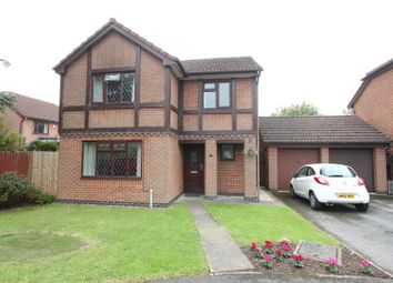 Thumbnail 4 bed detached house for sale in Worcester Close, Barwell, Leicester