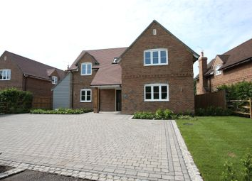 Thumbnail 4 bed detached house for sale in Fincham View, Rye Common, Odiham