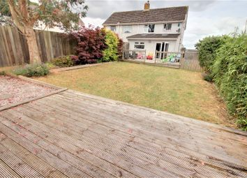 Thumbnail 3 bed semi-detached house for sale in Moorcroft Close, Plymstock, Plymouth