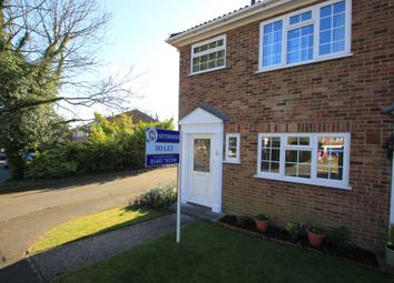 Thumbnail 3 bed end terrace house to rent in Hanover Court, Hook Heath, Woking