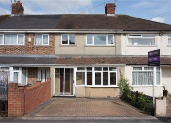 Thumbnail 3 bed terraced house for sale in Eastwood Crescent, Brislington