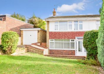 Thumbnail 4 bed semi-detached house for sale in Lyndhurst Way, Istead Rise, Kent
