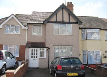 Thumbnail 3 bed terraced house for sale in Bourne View, Greenford