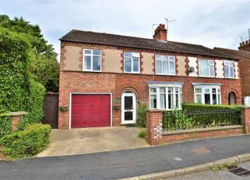 Thumbnail 4 bed semi-detached house for sale in New Road, Woodston, Peterborough