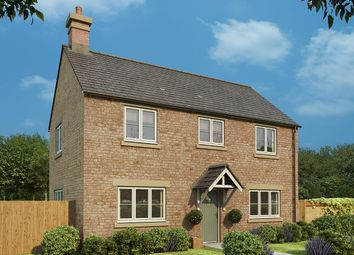 "Thumbnail 3 bedroom detached house for sale in ""Cypress"" at Burcote Road, Towcester"