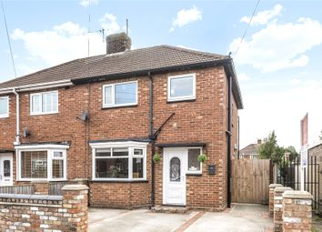 Thumbnail 3 bed semi-detached house for sale in Brocklesby Place, Grimsby