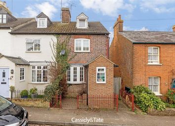 Thumbnail 3 bedroom end terrace house for sale in Necton Road, Wheathampstead, Hertfordshire