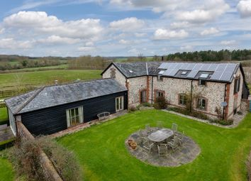 Thumbnail 4 bed barn conversion for sale in Cowlinge, Newmarket, Suffolk