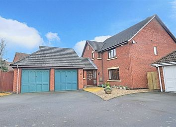 Thumbnail 4 bed detached house for sale in Hever Avenue, Warndon, Worcester