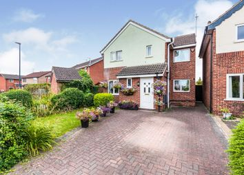 Thumbnail 4 bed detached house for sale in Peebles Close, Sinfin, Derby