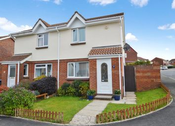 Thumbnail 2 bed semi-detached house for sale in Smallridge Close, Staddiscombe, Plymouth, Devon