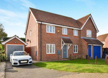 Thumbnail 3 bed semi-detached house for sale in Elthorne Park, Clacton-On-Sea
