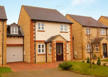 Thumbnail 3 bed link-detached house for sale in Glinton Road, Helpston, Peterborough